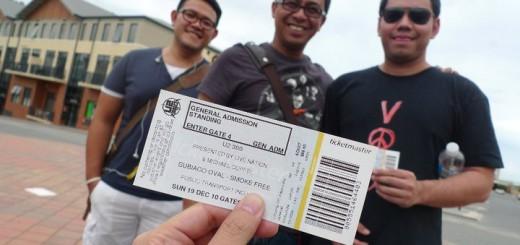 U2 konser di perth