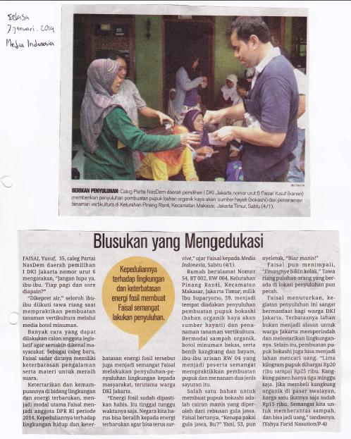 Media Indonesia (Selasa, 7 Januari 2014)