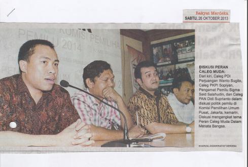 Rakyat Merdeka (Sabtu, 26 Oktober 2013)