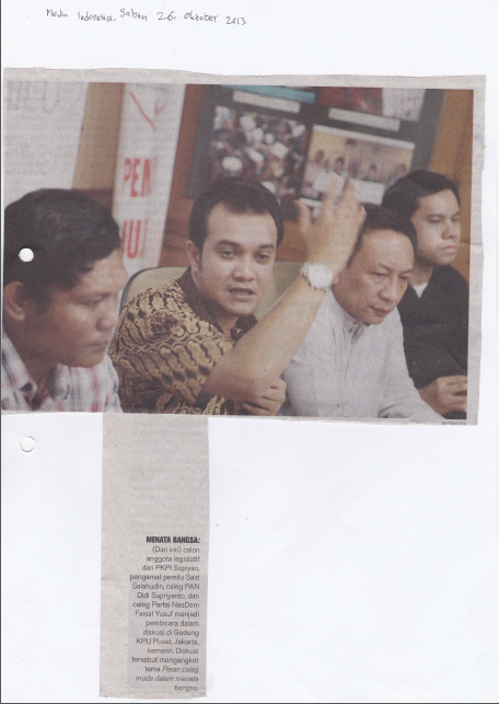 Media Indonesia (Sabtu, 26 Oktober 2013)